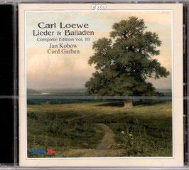 Carl Loewe: Lieder & Balladen, Complete Edition Vol. 18 (CPO)