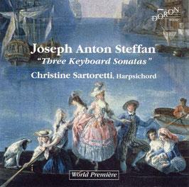 Joseph Anton Steffan: Three Keyboard Sonatas (Doron)