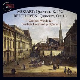 Wolfgang Amadeus Mozart: Quintet K. 452, Ludwig van Beethoven: Quintet, Op. 16 (Musica Omnia)