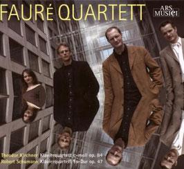 Theodor Kirchner: Klavierquartett c-moll op. 84, Robert Schumann: Klavierquartett Es-Dur op. 47 (Ars Musici)