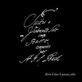 Johann Sebastian Bach: 6 Suites a Violoncello Solo senza Basso composé par J.S. Bach (2CD, New Focus Recordings)
