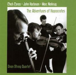 Chick Corea: The Adventures of Hippocrates, Marc Neikrug: Piano Quintet, John Harbison: Quartet No. 4 (Koch)
