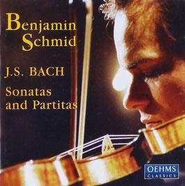 Johann Sebastian Bach: Sonatas and Partitas (2CD, Oehms)