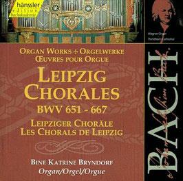 Johann Sebastian Bach: Leipziger Choräle (2CD, Hänssler)