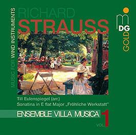 Richard Strauss: Music for Wind Instruments vol. 1, Till Eulenspiegel (arr.), Sonatina in E flat Major 'Frohliche Werkstatt' (MDG)