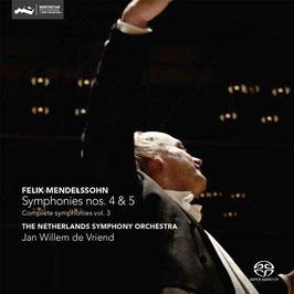 Felix Mendelssohn-Bartholdy: Symphonies nos. 4 & 5 (SACD, Challenge Classics)