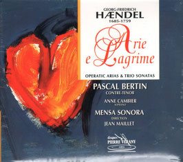 Georg Friedrich Händel: Arie e Lagrime (Pierre Verany)