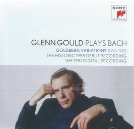 Johann Sebastian Bach: Goldberg Variations BWV 988 (The historic 1955 debut recording, The 1981 digital recording) (2CD, Sony)