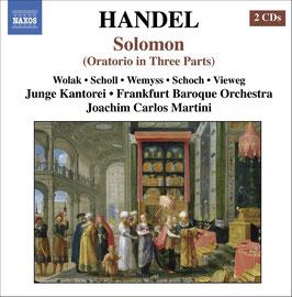 Georg Friedrich Händel: Solomon (2CD, Naxos)