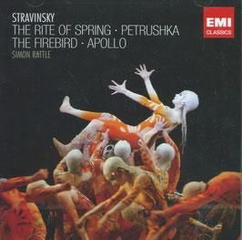 Igor Stravinsky: The Rite of Spring, Petruska, The Firebird, Apollo (2CD, EMI)