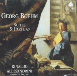 Georg Böhm: Suites & Partitas (Astrée Auvidis)