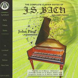 Johann Sebastian Bach: The Complete Clavier Suites, Volume Three (Lyrichord)