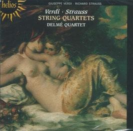 Giuseppe Verdi, RIchard Strauss: String Quartets (Hyperion Helios)
