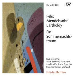 Felix Mendelssohn-Bartholdy: Ein Sommernachtstraum (Carus)