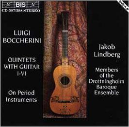 Luigi Boccherini: Quintets with Guitar I-VI on period instruments (2CD, BIS)