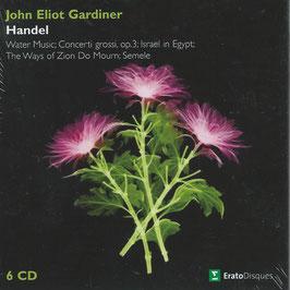 Georg Friedrich Händel: Water Music, Concerti grossi op. 3, Israel in Egypt, The Ways of Zion do Mourn, Semele (6CD, Warner)