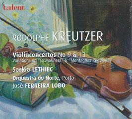 Rodolphe Kreutzer: Violin Concertos No 9 & 13 (Talent)