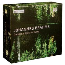 Johannes Brahms: Complete Songs & Duets (13CD, CD-rom, Brilliant)