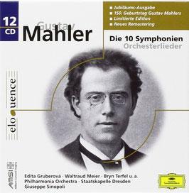 Gustav Mahler: Die 10 Symphonien, Orchesterlieder (12CD, Deutsche Grammophon Eloquence)