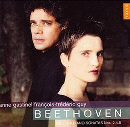 Ludwig van Beethoven: Cello Sonatas 2, 4 & 5 (Naïve)
