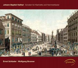Jan Krtitel Vanhal: Sonaten für Klarinette und Hammerklavier (Gramola)