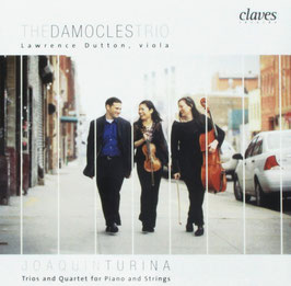 Joaquin Turina: Trios and Quartet for Piano and Strings (Claves)