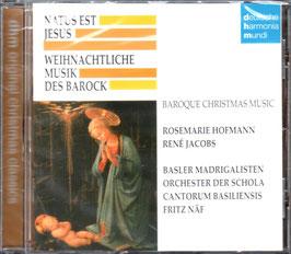 Natus est Jesus, Weihnachtliche Musik des Barocks (Deutsche Harmonia Mundi)