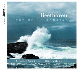 Ludwig van Beethoven: The Cello Sonatas (complete) (2CD, Claves)