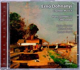 Ernó Dohnányi: Chamber Music II, Piano Quintets, Cello Sonate (SACD, Praga)