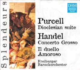 Henry Purcell: Dioclesian suite, Georg Friedrich Handel: il duello amoroso (Deutsche Harmonia Mundi)