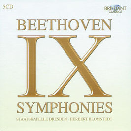 Ludwig van Beethoven: IX Symphonies (5CD, Brilliant)