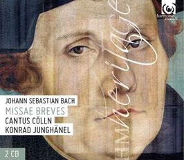 Johann Sebastian Bach: Missae Breves (2CD, Harmonia Mundi)