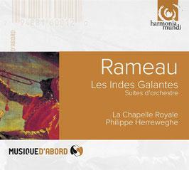Jean-Philippe Rameau: Les Indes Galantes, Suites d'orchestre (Harmonia Mundi)