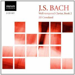 Johann Sebastian Bach: Well-tempered Clavier, Book 2 (2CD, Signum)