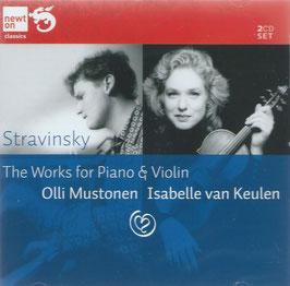 Igor Stravinsky: The Works for Piano & Violin (2CD, Newton)