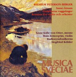 Wilhelm Peterson-Berger: Same-Ätnam, Gullebarns vaggesanger, Romans för violin och orkester (Musica Sveciae)