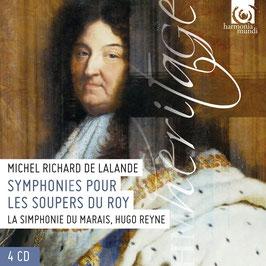Michel-Richard De Lalande: Symphonies pour les Soupers du Roy (4CD, Harmonia Mundi)
