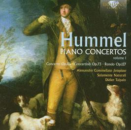 Johann Nepomuk Hummel: Piano Concertos, volume 1 (Brilliant)