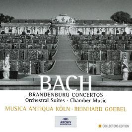 Johann Sebastian Bach: Brandenburg Concertos, Orchestral Suites, Chamber Music (8CD, Archiv)