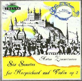 Anton Zimmermann: Six Sonatas for Harpsichord and Violin op. 2 (Trevak)