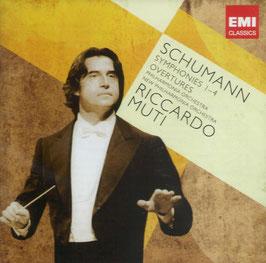 Robert Schumann: Symphonies 1-4, Overtures (2CD, EMI)