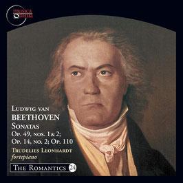 Ludwig van Beethoven: Sonatas Op. 49 nos. 1 & 2, Op. 14 no. 2, Op. 110 (Musica Omnia)