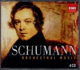 Robert Schumann: Orchestral Music (4CD, EMI)