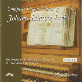 Johann Ludwig Krebs: Complete Organ Works, Volume Five (Priory)