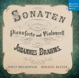 Johannes Brahms: Sonaten für Pianoforte und Violoncell (Deutsche Harmonia Mundi)