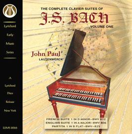 Johann Sebastian Bach: The Complete Clavier Suites, Volume One (Lyrichord)