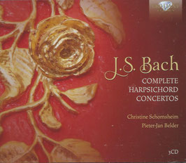 Johann Sebastian Bach: Complete Harpischord Concertos (3CD, Brilliant)