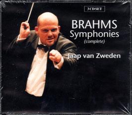 Johannes Brahms: Symphonies complete, Elf Choralvorspiele op. posth. 122 orkestbewerking (3CD, Brilliant)