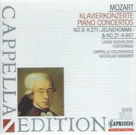 Wolfgang Amadeus Mozart: Piano Concertos no. 9 'Jeunehomme' & no. 21 (Capriccio)