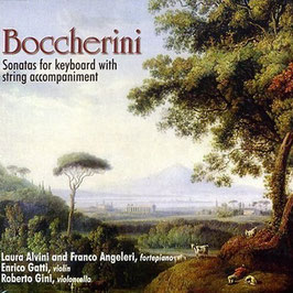 Luigi Boccherini: Sonatas for keyboard with string accompaniment (2CD, Brilliant)